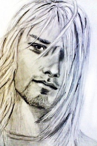 Kurt Cobain by Semra